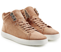 High-Top-Sneakers Kent aus Veloursleder