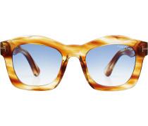 Oversize Sonnenbrille Greta mit getönten Gläsern