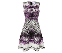 Flared-Dress mit Print