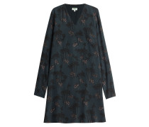 Print-Kleid aus Seide