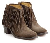 Ankle Boots Ramones aus Veloursleder