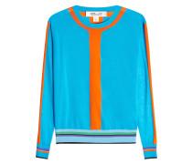 Pullover aus Baumwolle im Color Block Look