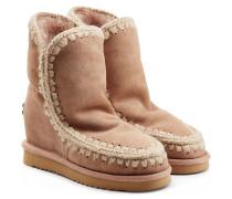 Boots Eskimo Wedge Short aus Schafleder