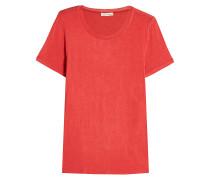 T-Shirt aus Woll-Jersey