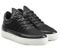 Sneakers Cane aus Leder und Mesh