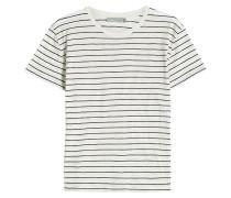 Gestreiftes T-Shirt aus Pima-Baumwolle