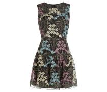 Besticktes Flared-Dress