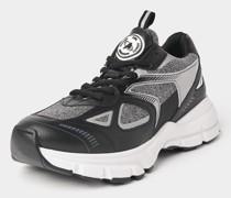 Sneaker mit Glitzer-Details