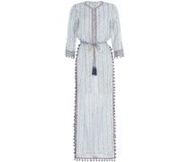 Tunika-Dress aus Seide und Baumwolle
