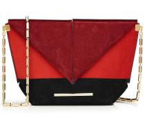 Envelope-Tasche aus Veloursleder