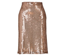 Pencil-Skirt mit Pailletten
