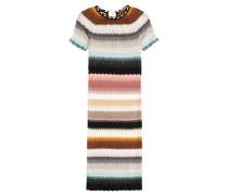 Strickkleid mit Multicolor-Muster