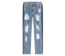 Straight Leg Jeans Sid im Distressed-Look