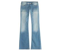 Flared-Jeans Joy aus Baumwoll-Stretch