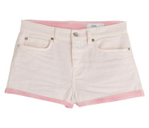 Denim-Shorts aus Baumwoll-Stretch