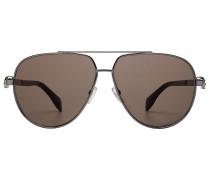 Piloten-Sonnenbrille mit Totenköpfen