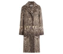 Mantel aus Schur- und Alpakawolle