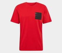 T-Shirt mit Badge