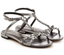 Leder-Sandalen Ana mit Nieten