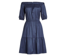 Off-Shoulder-Kleid mit Baumwolle