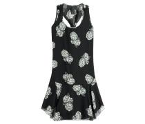 Flared-Dress Gardenia aus Seidenchiffon