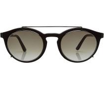 Sonnenbrille mit Metallbügel