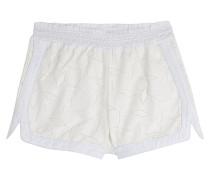 Bestickte Shorts mit Spitze