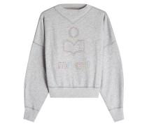 Besticktes Sweatshirt Odilon aus Baumwolle
