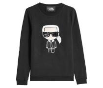 Besticktes Sweatshirt Ikonik Karl aus Baumwolle