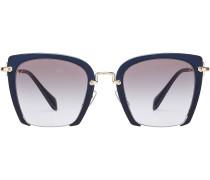 Rechteckige Oversize-Sonnenbrille Rasoir