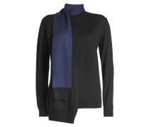 Pullover aus Wolle mit Schalkragen
