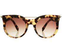 Sonnenbrille mit runden Gläsern