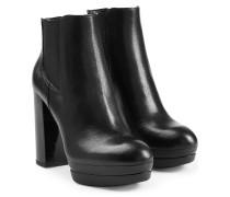 Ankle-Boots aus Leder