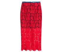Midi-Skirt aus Spitze