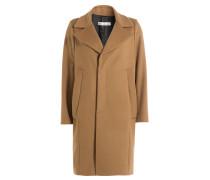 Mantel mit Schurwolle
