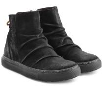 Ankle Boots aus Veloursleder im Sneaker-Stil