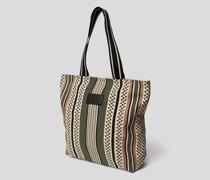 Tote Bag mit Kufiya-Muster