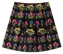 Bestickter Flared-Skirt