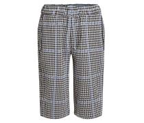 Bermuda-Shorts mit Hahnentrittmuster