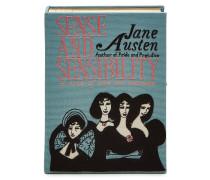 Bestickte Buch-Clutch Jane Austen
