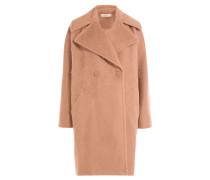 Oversize-Mantel aus Alpakawolle und Seide