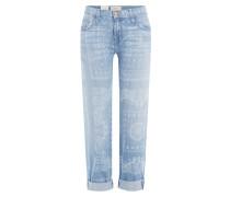 7/8-Jeans mit Print