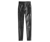 Fake-Leder Pants