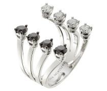 Ring Big aus 18kt Weißgold und Diamanten
