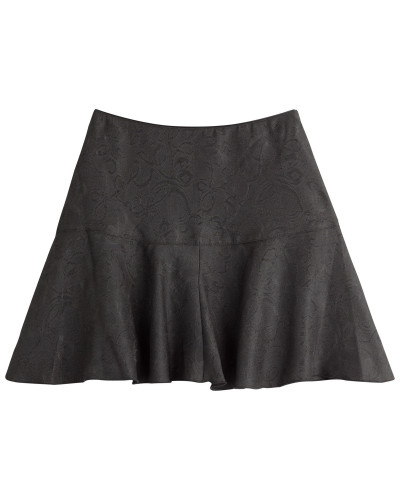 Flared-Skirt aus Jacquard