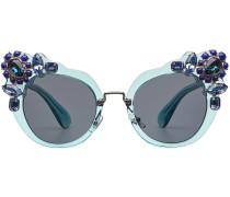 Sonnenbrille mit Strasssteinen