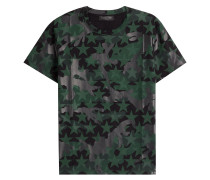 Baumwoll-Shirt mit Prints