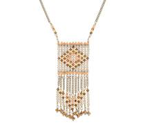 Halskette aus bunten Perlen