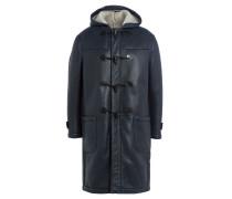 Duffle-Coat aus Leder