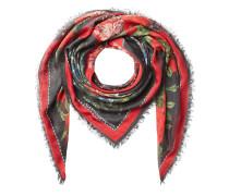 Print-Schal aus Seidenjersey